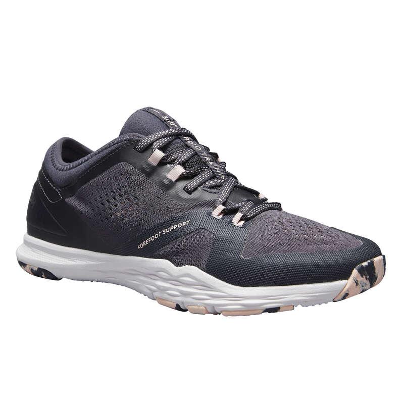 Женские кроссовки низкая интенсивность Гибкая обувь для фитнеса - Кроссовки для фитнеса 900 DOMYOS - Гибкая обувь для фитнеса