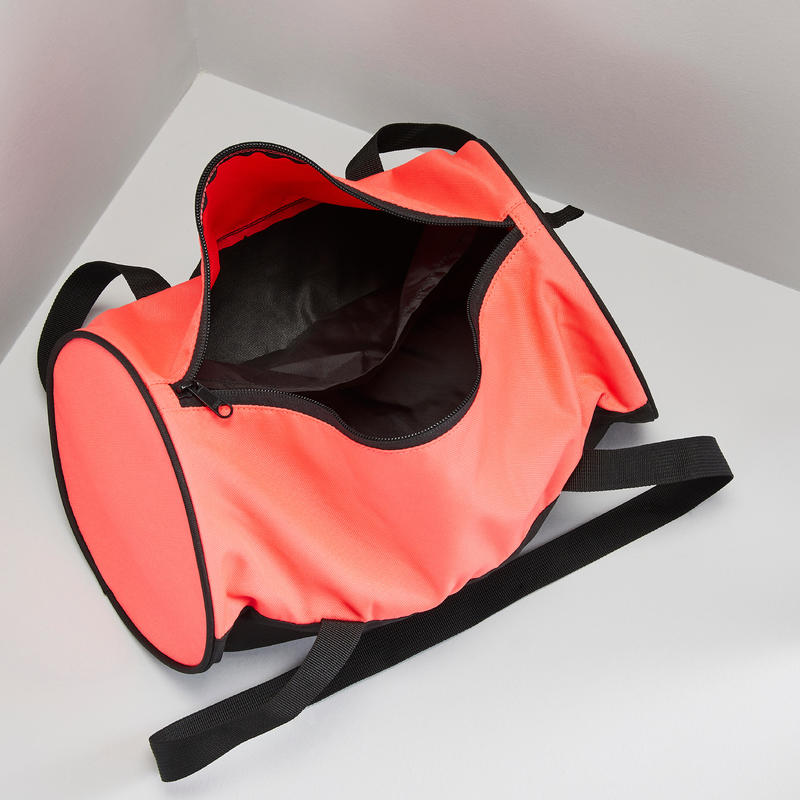 15L Compact Cardio Training Fitness Barrel Bag - Pink