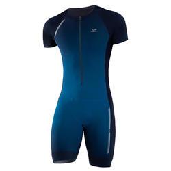 Atletiekpak heren blauw