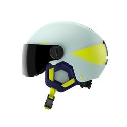 Skihelm voor kinderen H-KID 550 blauw en geel