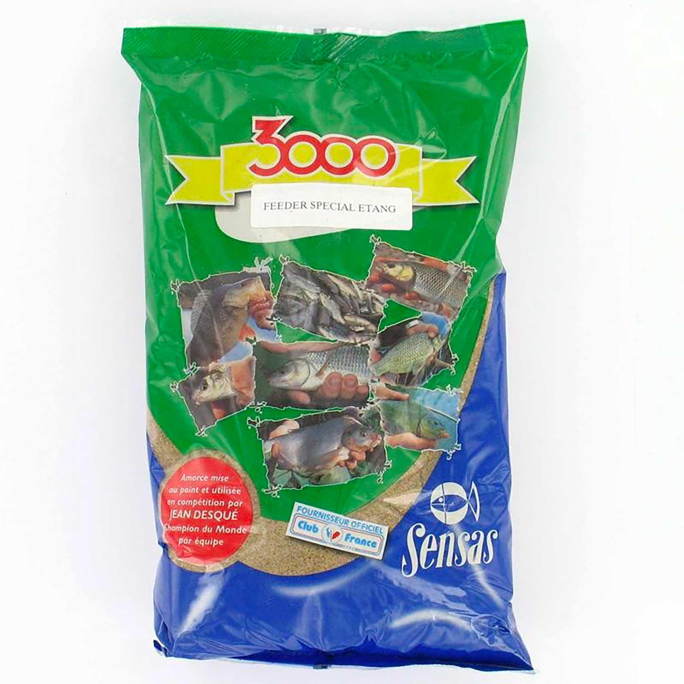 Nadă pescuit 3000 Feeder 1 kg