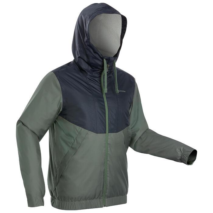 Men's Warm Waterproof Snow Hiking Jacket SH100 Warm.
