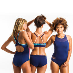 Sportbikini Oberteil Aquafitness Meg Mem Damen blau
