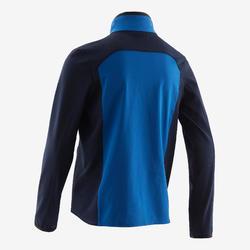 Veste légère respirante, W500 garçon GYM ENFANT bleu et bleu marine