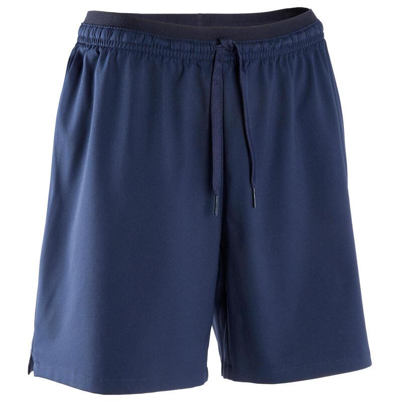Pantalón Corto Fútbol Kipsta F500 Mujer Azul