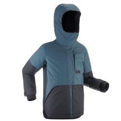 Chaqueta snowboard y esquí, dreamscape SNB JKT 500, impermeable, niños, gris
