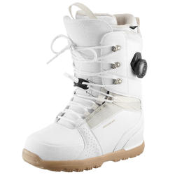 Snowboardboots voor Dames Freestyle/All Mountain, Endzone, wit