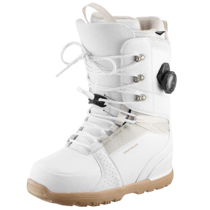 СНОУБОРД. ПРОДВИНУТЫЙ УРОВЕНЬ. ЖЕНЩИНЫ Большие размеры - Ботинки для сноуборда женские DREAMSCAPE - Большие размеры