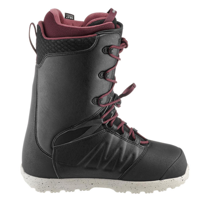 Chaussures de snowboard homme Freestyle/All Mountain, Endzone, Noires