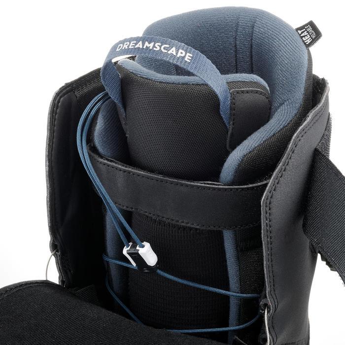 Chaussures de snowboard homme à serrage rapide piste / hors-piste, All Road 500