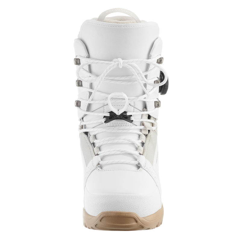 Chaussures de snowboard femme Freestyle/All Mountain, Endzone, blanches