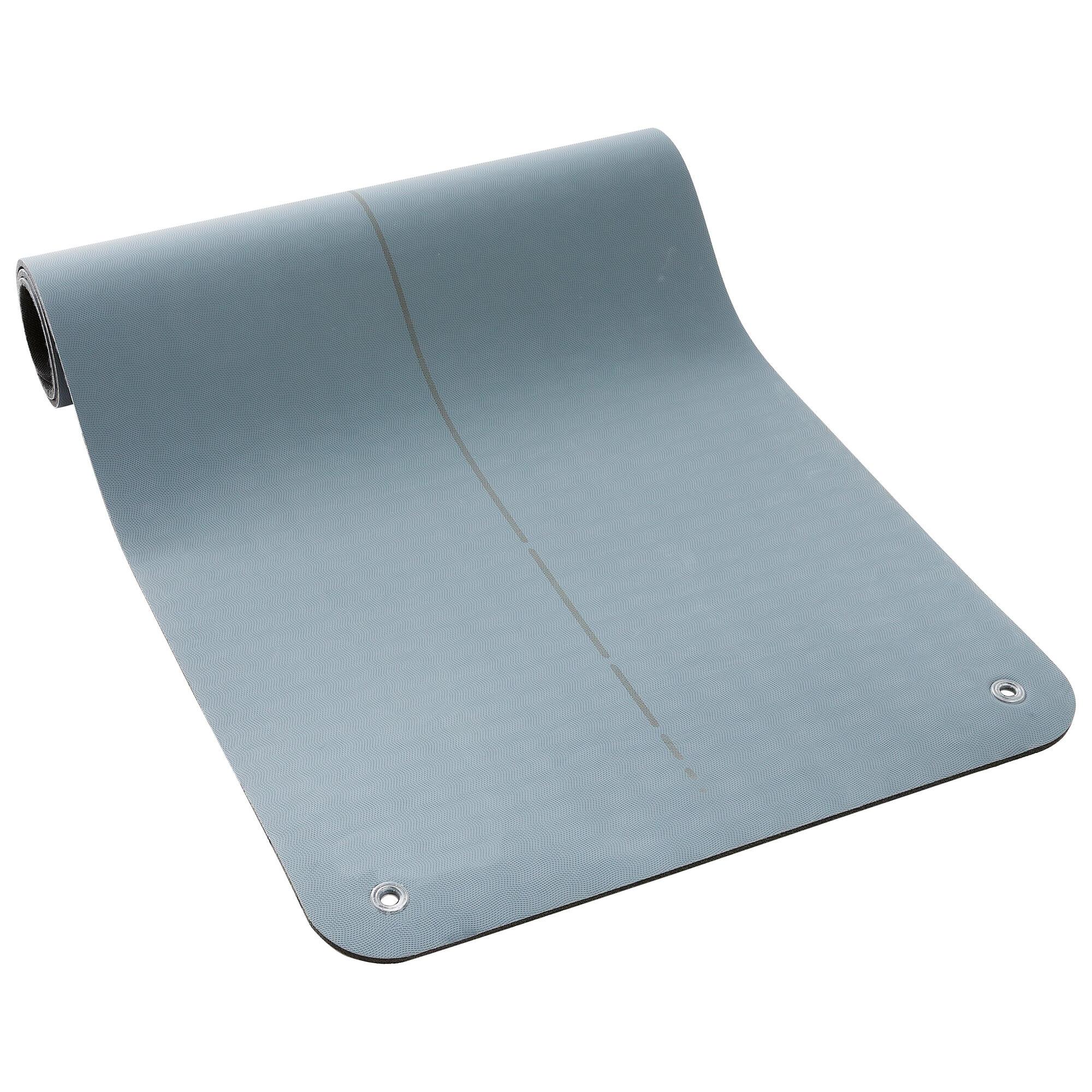 Petit matériel tonification - Tapis de sol fitness Tonemat M gris  9cmx9cmX9mm