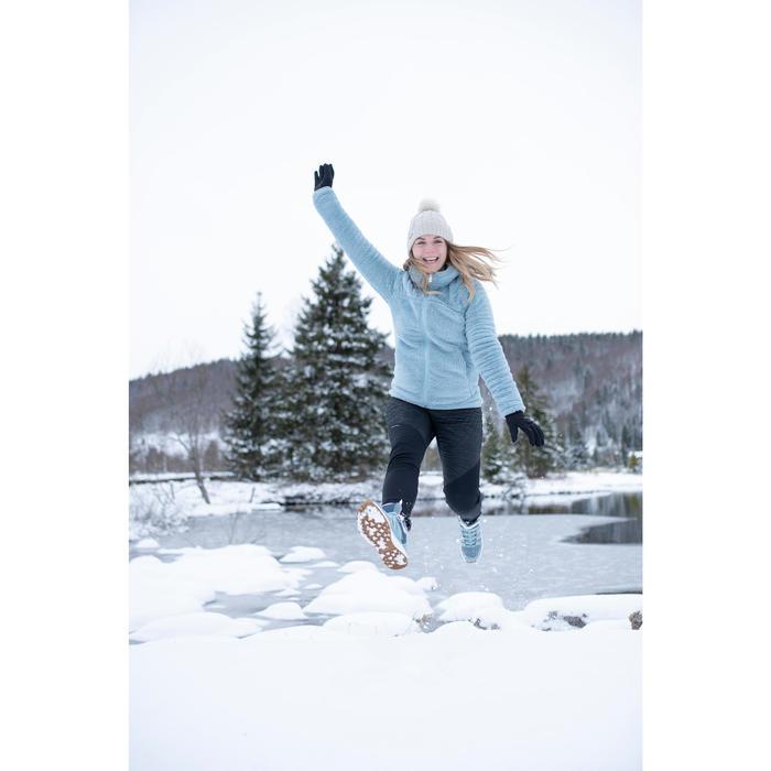 Legging voor sneeuwwandelen dames SH500 Warm zwart