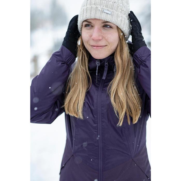 Wandeljas voor dames warm en waterdicht SH100 Warm