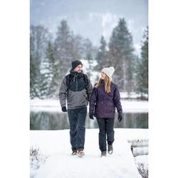 Veste chaude imperméable de randonnée neige - SH100 WARM - homme.