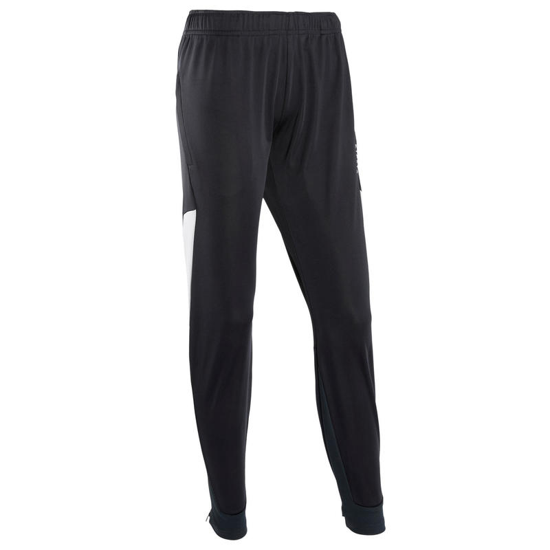 Pantalón de entrenamiento de fútbol T500 mujer negro