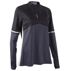 Camisola de Treino Futebol Mulher T500 Preto
