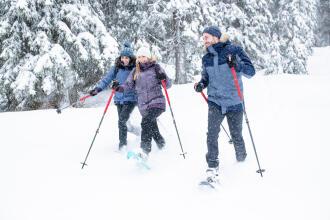 Comment randonner tout l'hiver ?