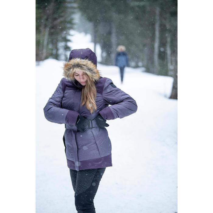 Legging chaud déperlant de randonnée neige - SH500 WARM - femme