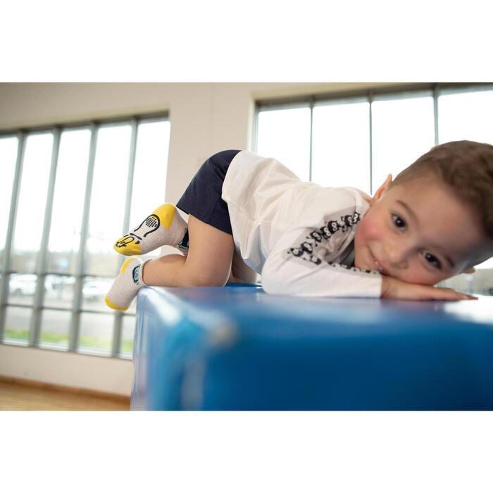 Calções de Ginástica 100 para Bebés, azul marinho