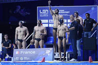MEN'S WATER POLO SWIMMING BRIEFS - OFFICIAL FRANCE