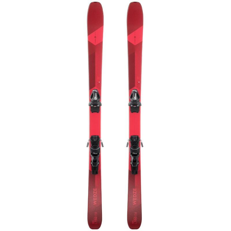 Pánské lyže s vázáním Cross 150+ červené