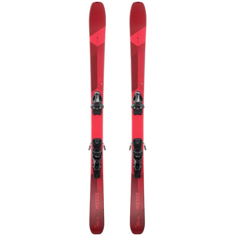 Skidor, Snowboard Vintersport - SKI-P CROSS 150+ HERR RÖD WEDZE - Skidutrustning