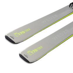 Pisteski voor heren met bindingen Boost 580 grijs