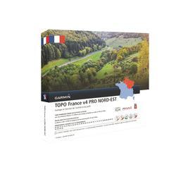 Wandelkaart TOPO Noordoost-Frankrijk V4