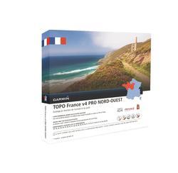 Wandelkaart TOPO Noordwest-Frankrijk V4