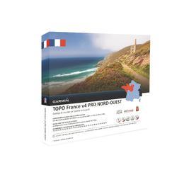 Topografische kaart Noordwest-Frankrijk V4