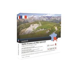 Mapa de senderismo topográfico Sureste de Francia V4