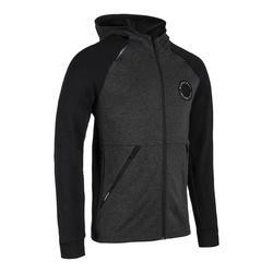 男款拉鍊籃球外套J500-黑色