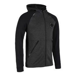 Men's Zippered Basketball Jacket J500 - Black