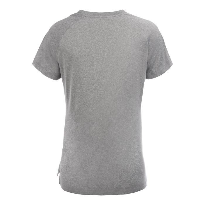 女款中階籃球T恤TS500-灰色照片
