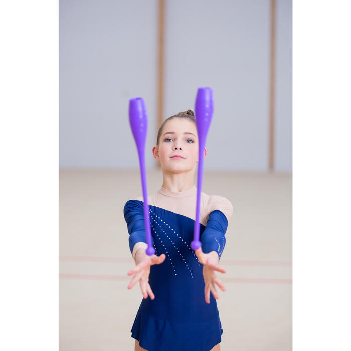 Massues de Gymnastique Rythmique (GR) de 42 cm Violet