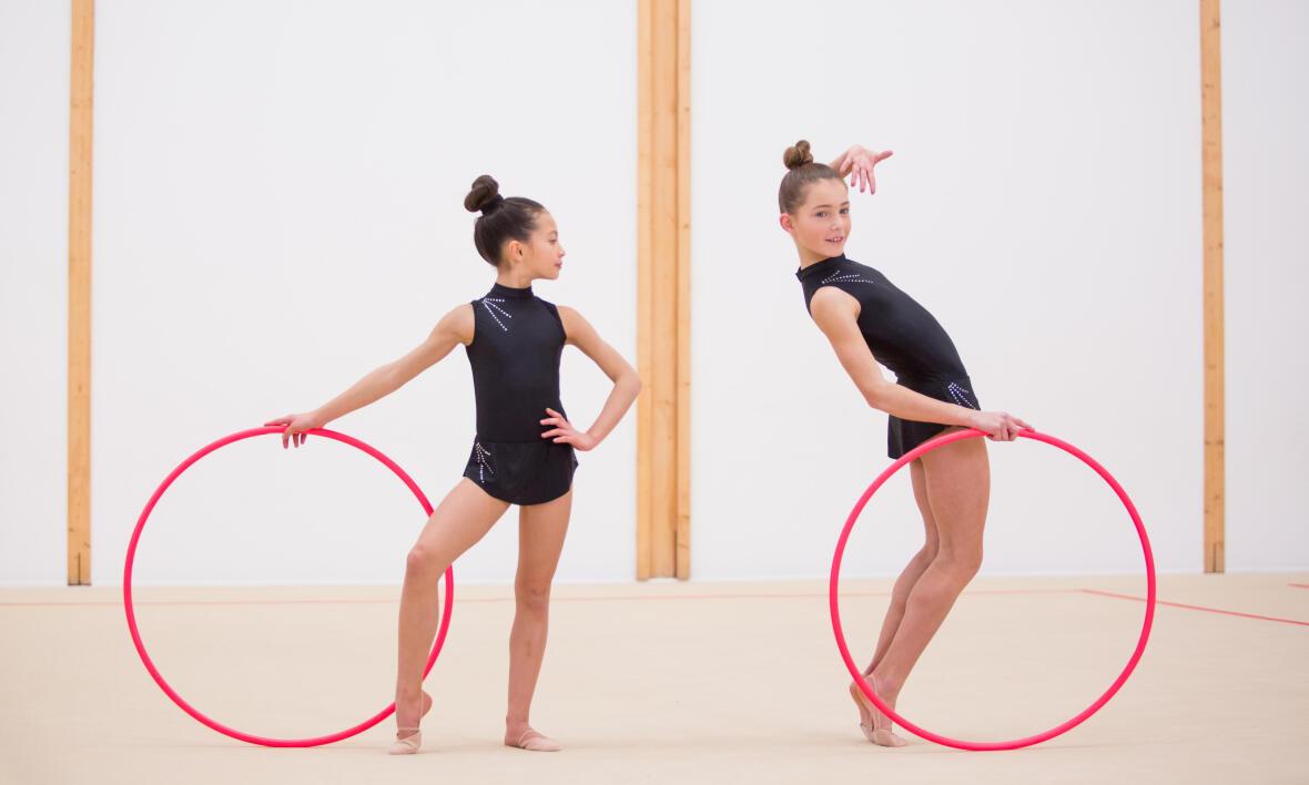 Le cerceau en gymnastique rythmique