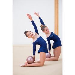 Demi-pointes de Gymnastique Rythmique (GR) en microfibre Beige