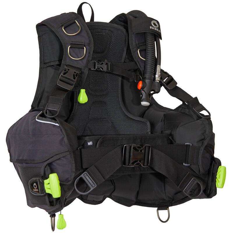 VYBAVENÍ A DOPLŇKY NA POTÁPĚNÍ Potápění a šnorchlování - POTÁPĚČSKÝ ŽAKET SCD500 SUBEA - Potápění
