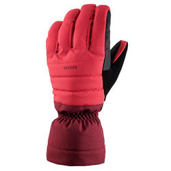 GANTS DE SKI DE PISTE ADULTE 500 PRUNE