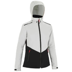Veste softshell coupe vent Sailing 900 Femme GrisNoir