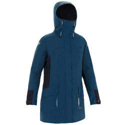 Women's Sailing Parka Jacket 500 - Blue