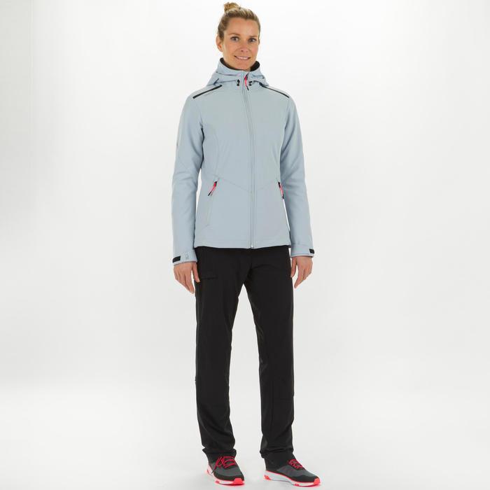 Women's Softshell Race - Light Grey