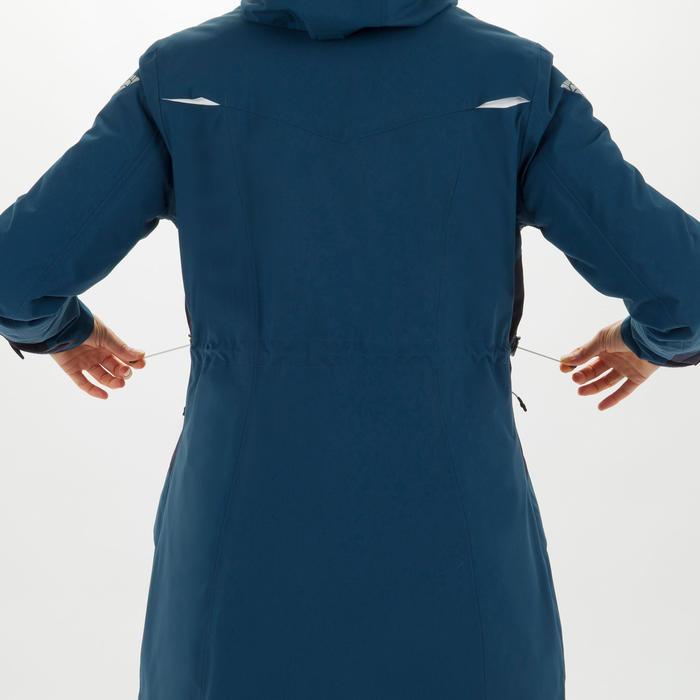 女款航海連帽外套500-藍色