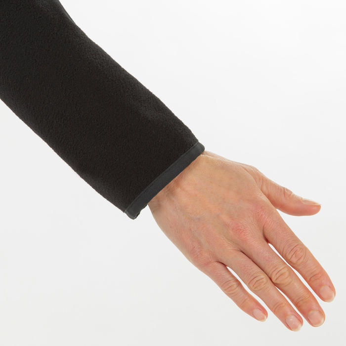 Waterafstotende fleece voor zeilen dames Race 100 zwart