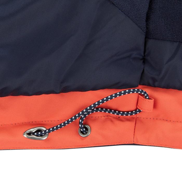 Veste chaude bateau femme 100 rouge clair