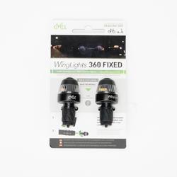 Luzes intermitentes para guiador de bicicleta e trotinete