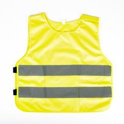 Reflecterend veiligheidshesje voor kinderen geel XXXS