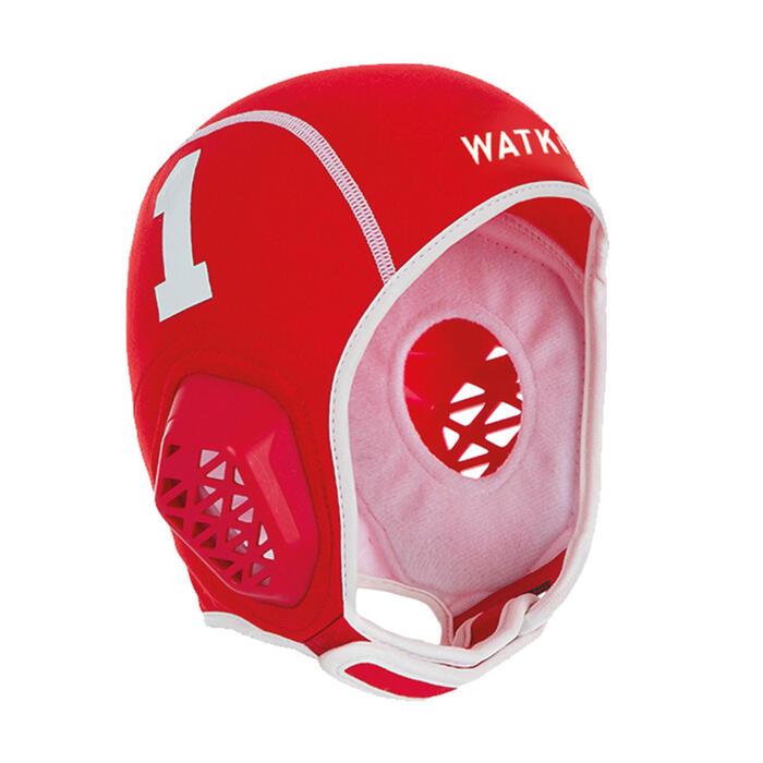 Lot de 15 bonnets water polo junior easyplay blanc