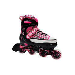 SP PATIN KRF AJUSTABLE DIAMOND ROSA
